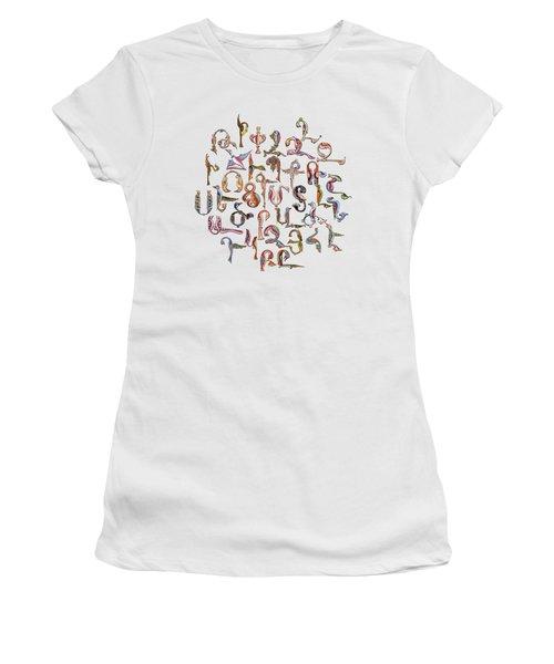 Armenian Birds Alphabet Women's T-Shirt