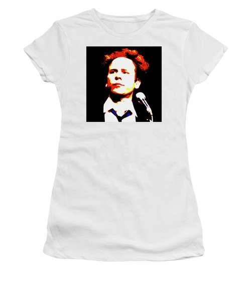 Art Garfunkel Pop Art Women's T-Shirt