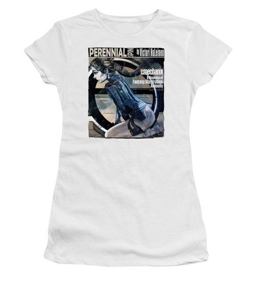 arteMECHANIX 1908 PERENNIAL SPIN GRUNGE Women's T-Shirt
