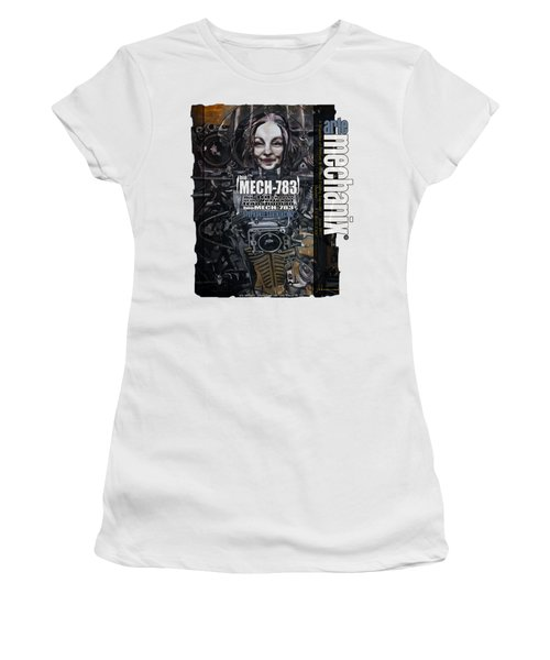 arteMECHANIX 1917 BioMECH-783 GRUNGE Women's T-Shirt
