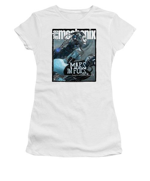 arteMECHANIX 1926 MARS IN FURS GRUNGE Women's T-Shirt