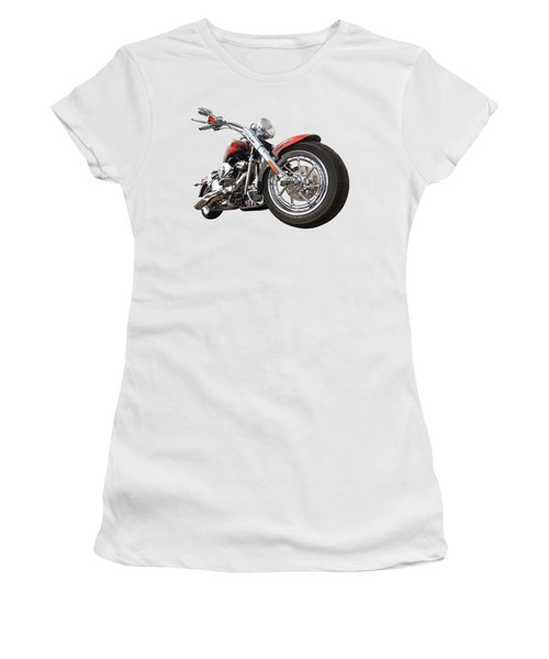 Wet And Wild - Harley Screamin' Eagle Reflection Women's T-Shirt