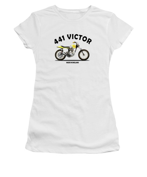 The Bsa 441 Victor Women's T-Shirt (Athletic Fit)