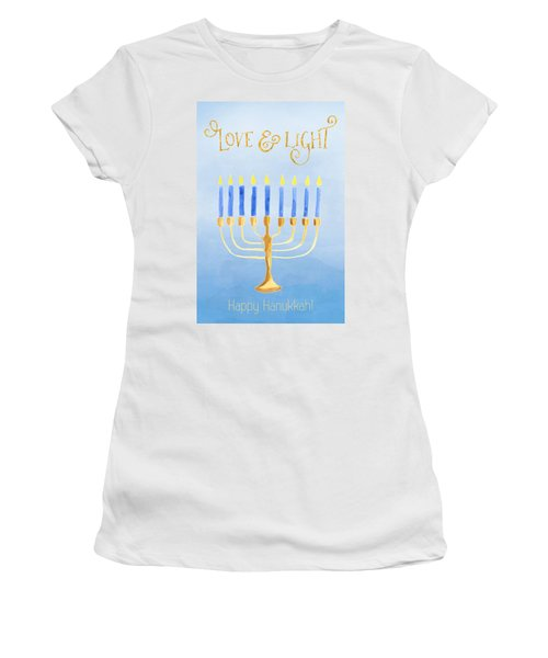 Love And Light For Hanukkah Women's T-Shirt
