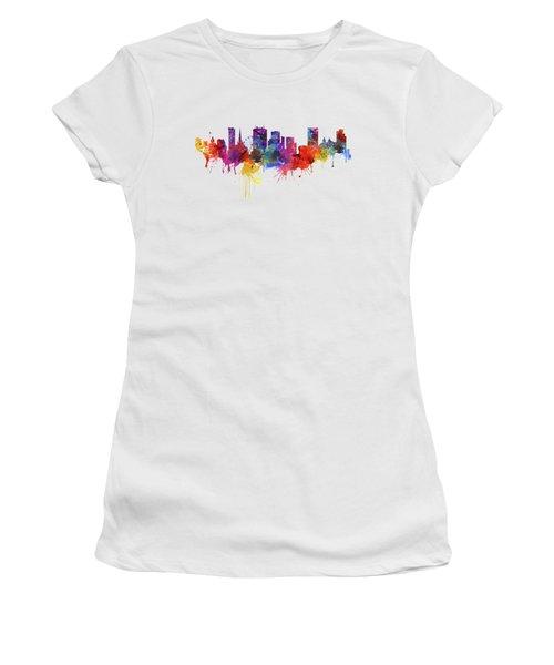Birmingham Watercolor Skyline Women's T-Shirt