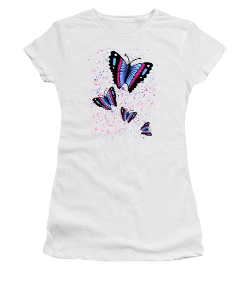 Flutterbies Women's T-Shirt