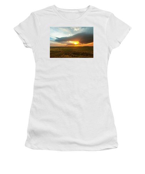 As The Sun Is Setting Women's T-Shirt