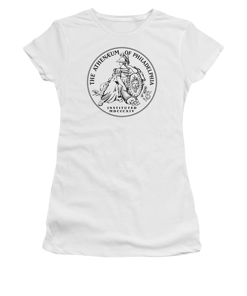 Athenaeum Of Philadelphia Logo Women's T-Shirt