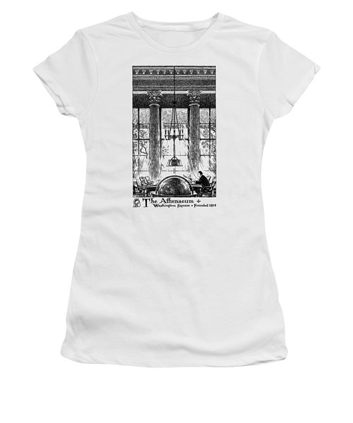 Athenaeum Reading Room Women's T-Shirt