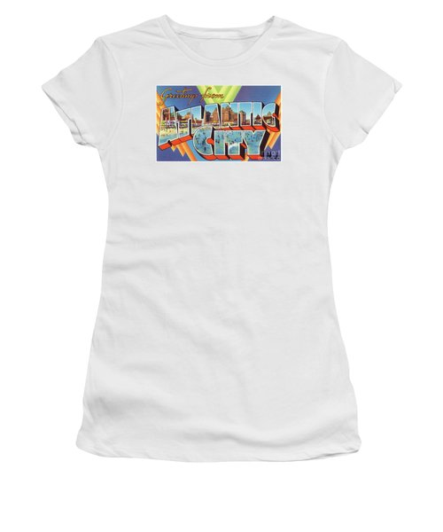 Atlantic City Greetings #4 Women's T-Shirt