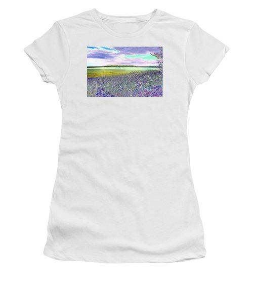 Au Train Island Greened Over Women's T-Shirt