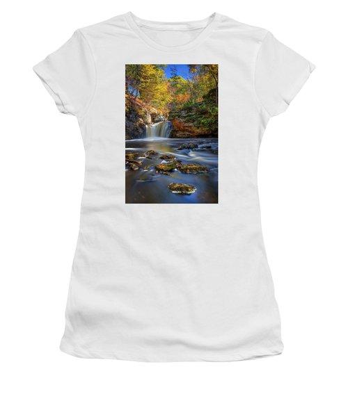 Autumn Day At Doane's Falls Women's T-Shirt