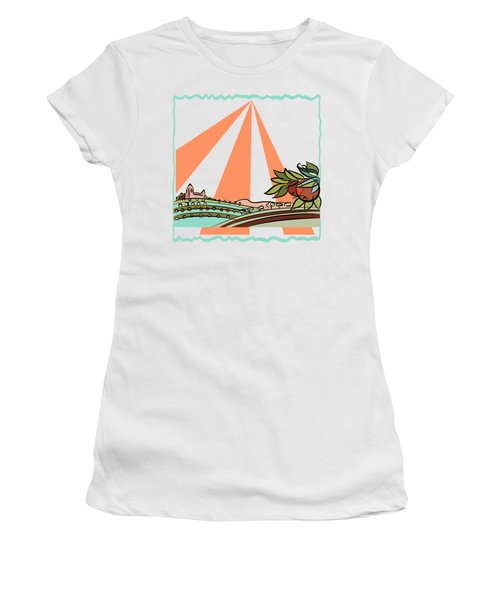 Autumn Harvest Illustration 2 Women's T-Shirt