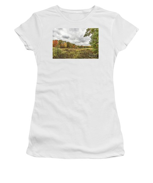 Autumn Has Been Found In Michigan Women's T-Shirt