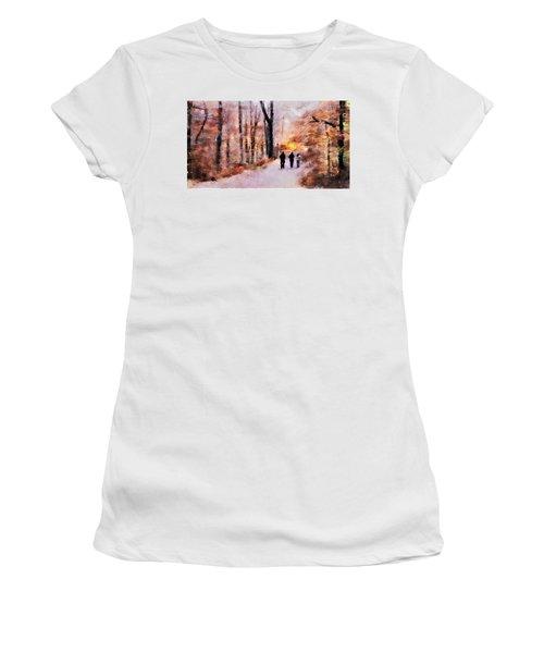 Autumn Walkers Women's T-Shirt