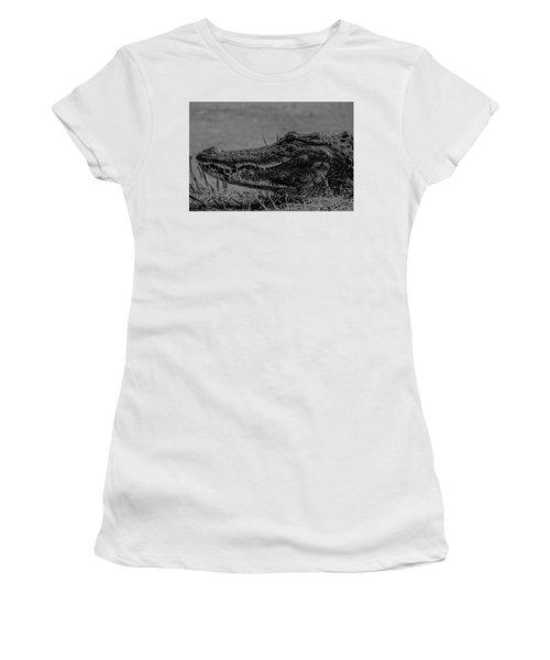 B And W Gator Women's T-Shirt