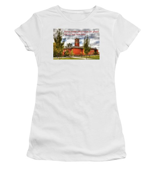 Women's T-Shirt featuring the photograph Back Home by David Patterson