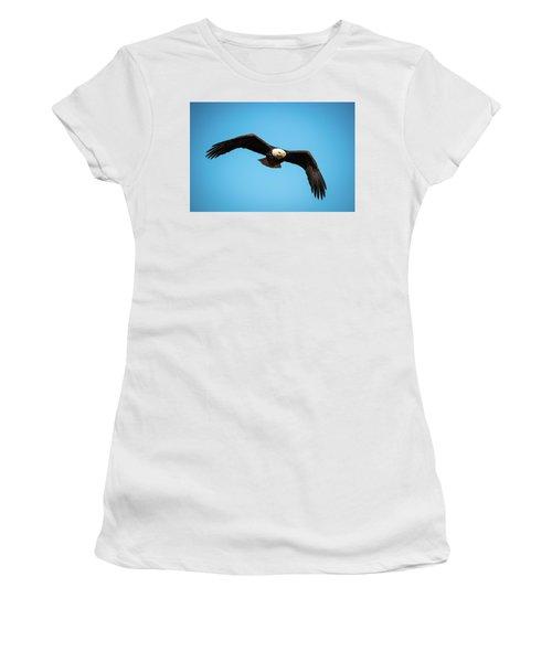 Bald Eagle In Flight  Women's T-Shirt