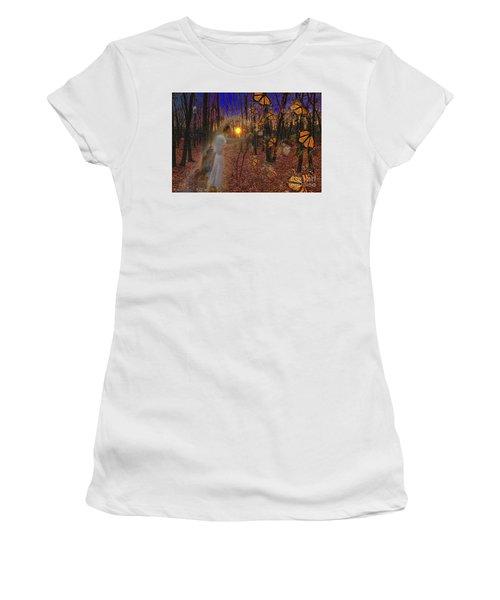 Ballerinas And Butterflies Women's T-Shirt
