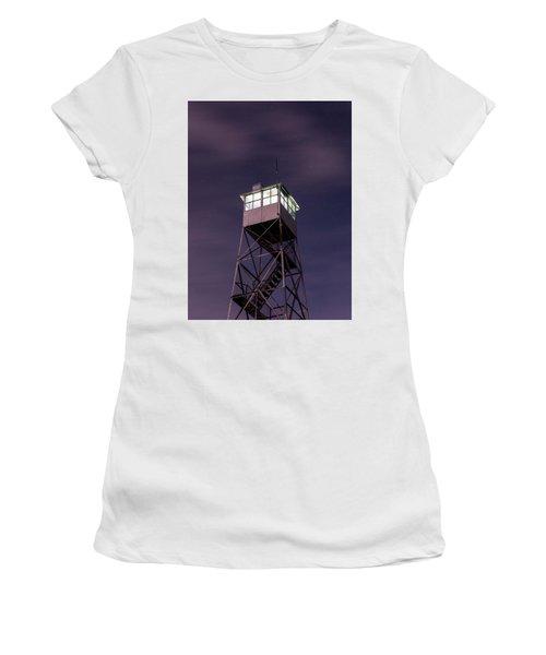 Balsam Lake Mountain Firetower  Women's T-Shirt