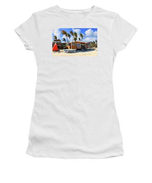 Bankie Banxs Dunes Preserve Beach Bar Women's T-Shirt