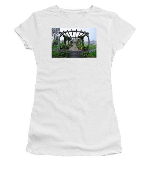 Bar Harbor Pergola Women's T-Shirt