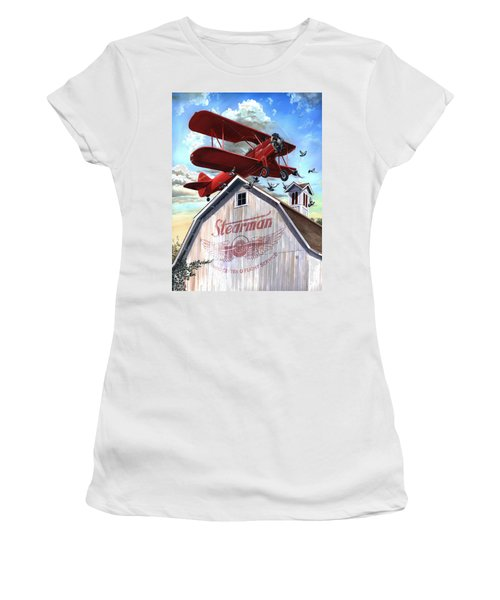 Barn Stormer - Customizeable Women's T-Shirt