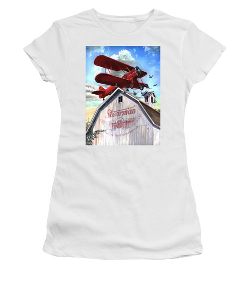 Barn Stormer - Customizeable Women's T-Shirt