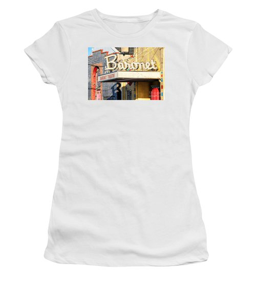 Baronet Theater Asbury Park New Jersey 1913 Demolished In 2010 Women's T-Shirt