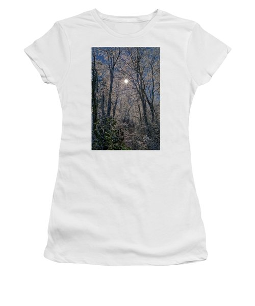 Bass Lake Frosty Women's T-Shirt