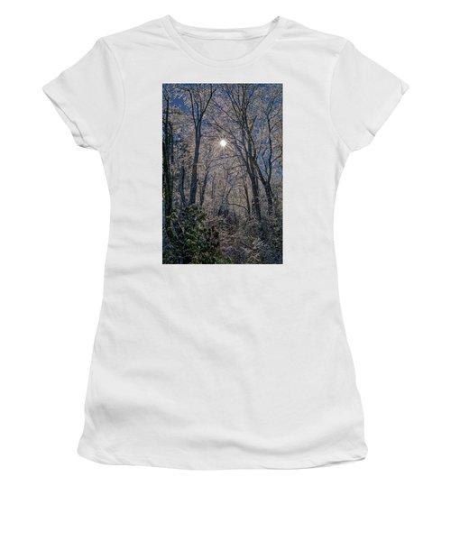 Bass Lake Frosty Women's T-Shirt