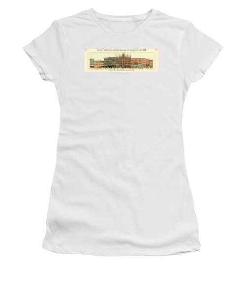 Baxter's Panoramic Business Directory Women's T-Shirt