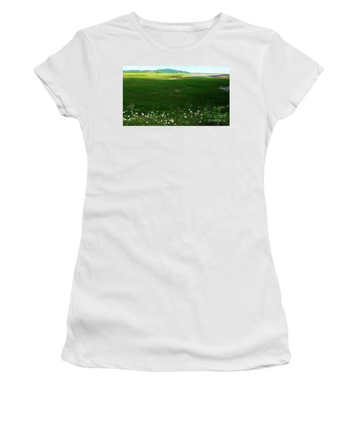 Bay Of Fundy Landscape Women's T-Shirt