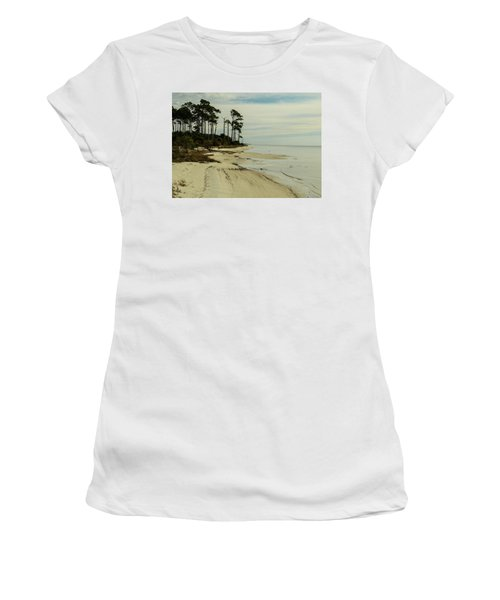 Beach And Trees Women's T-Shirt
