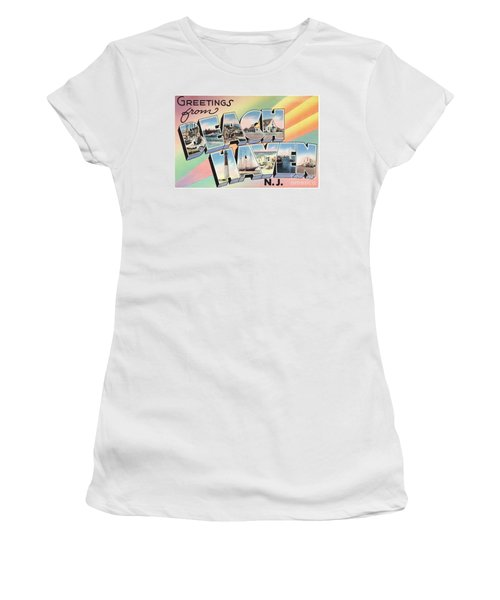 Beach Haven Greetings Women's T-Shirt