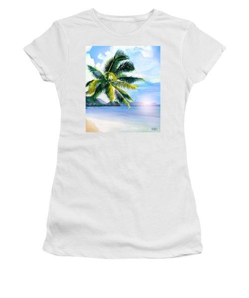 Beach Scene Women's T-Shirt