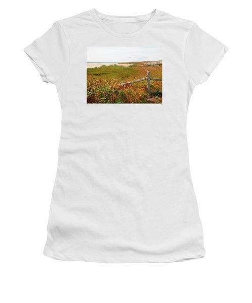 Beckoning Beach Women's T-Shirt