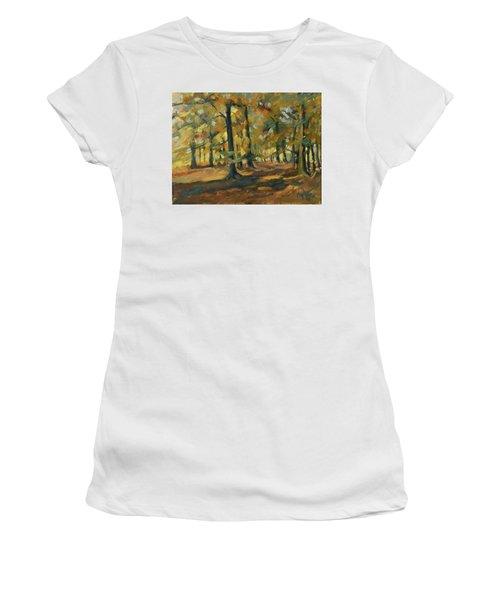 Beeches In Autumn Women's T-Shirt