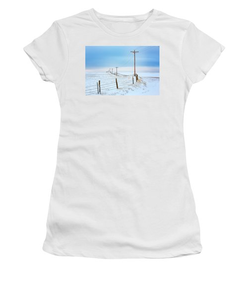 Bend In The Road Women's T-Shirt