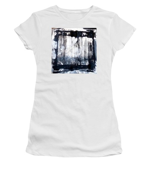 Women's T-Shirt featuring the painting Birch by 'REA' Gallery