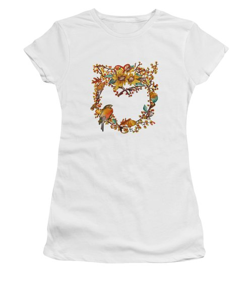 Bittersweet Wreath Women's T-Shirt