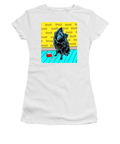 Blue Dog Women's T-Shirt