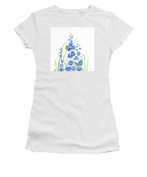 Blue Larkspur  Women's T-Shirt