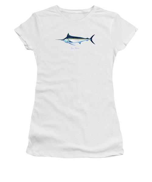 Blue Marlin Women's T-Shirt