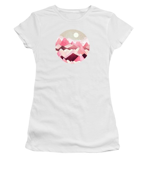 Blush Berry Peaks Women's T-Shirt