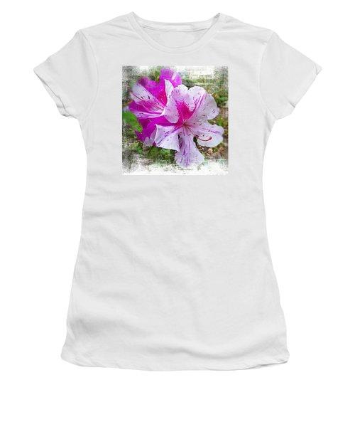 Blushing Azaleas Women's T-Shirt