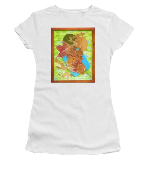 Bouquet From Fallen Leaves Women's T-Shirt