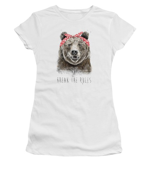 Break The Rules Women's T-Shirt
