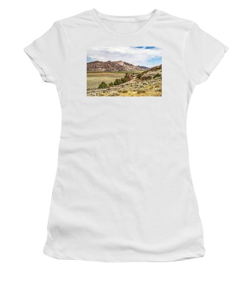 Breathtaking Wyoming Scenery Women's T-Shirt