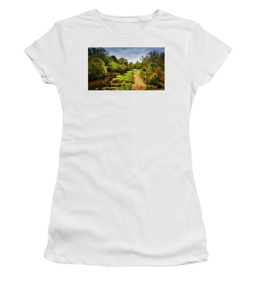 Bridge With Falling Colors Women's T-Shirt